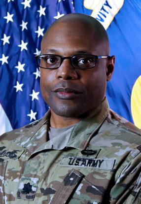 Lt. Col. Edward E. Williams, Commander BGCA